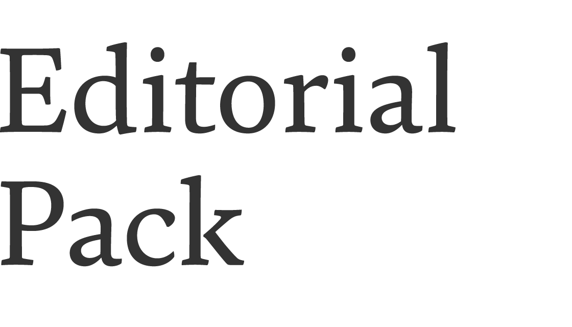 Editorial pack