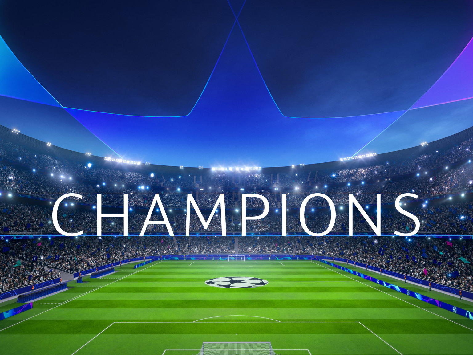 UEFA Champions League 2018 - Custom font design | Fontsmith