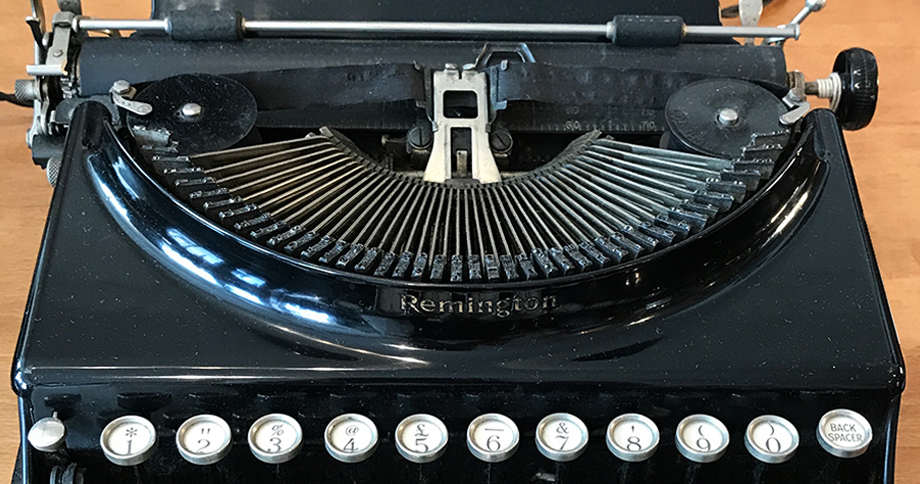 How the typewriter changed the way we communicate