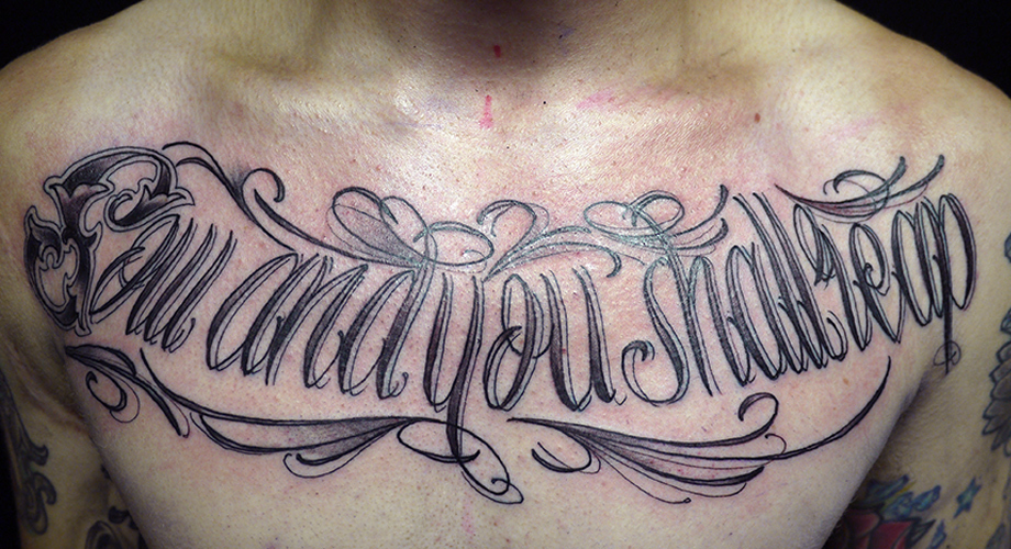 Skin deep – typography and tattoos | Fontsmith Blog