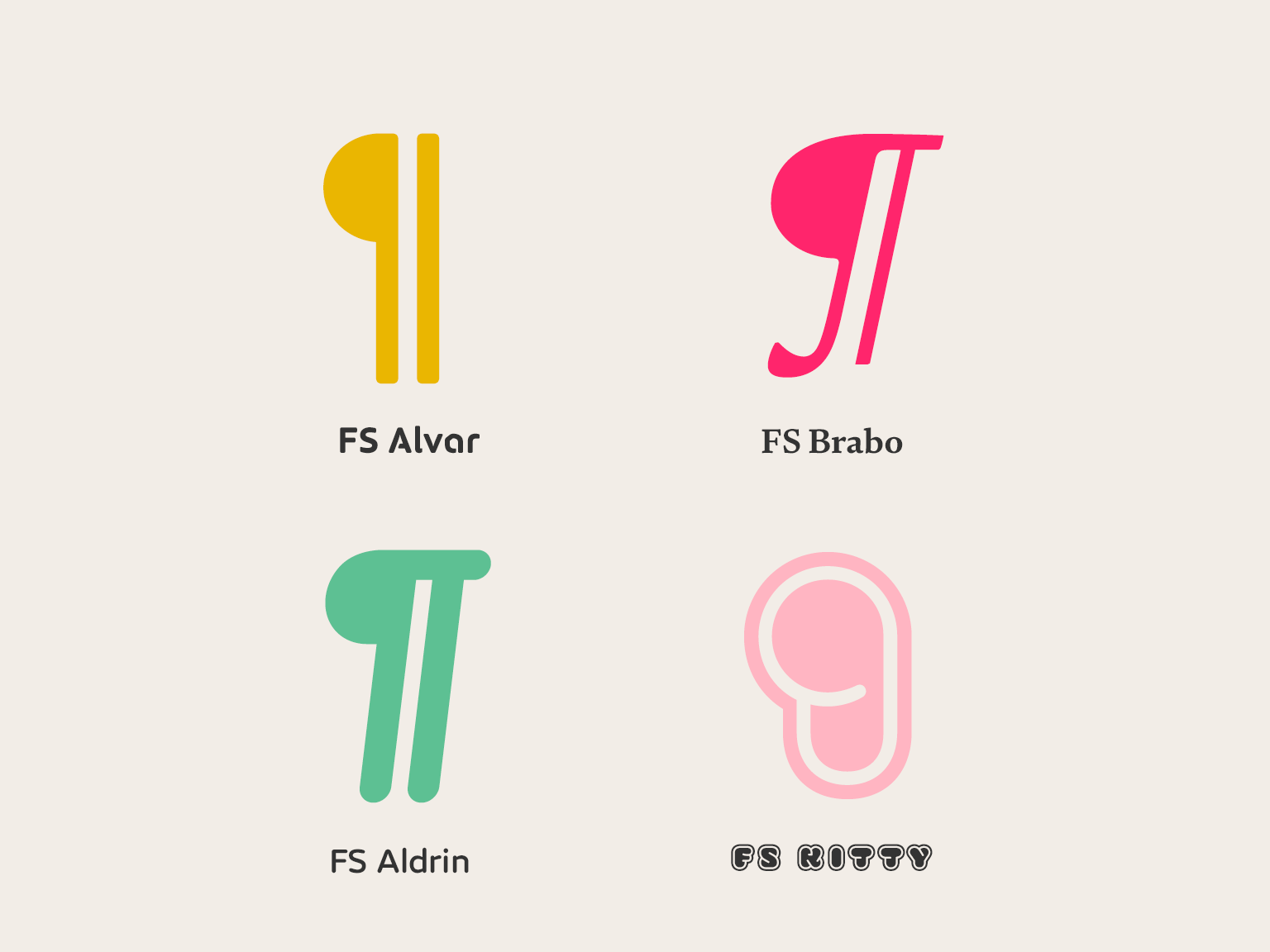 Punctuation Series The Pilcrow Fontsmith Blog